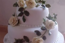 Wedding Catering Dublin 2 Tier Roses