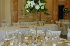 Wedding Catering Dublin - Tall Table Centre